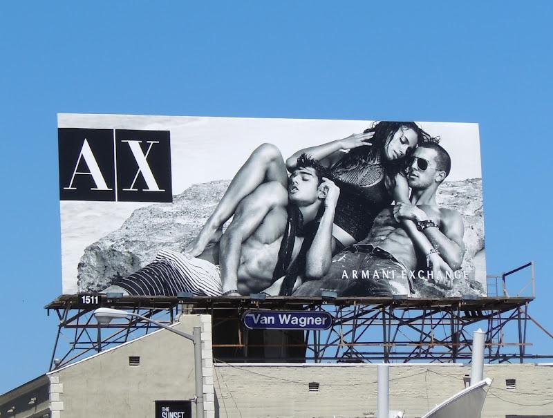 Marlon Teixeira Clint Mauro AX billboard
