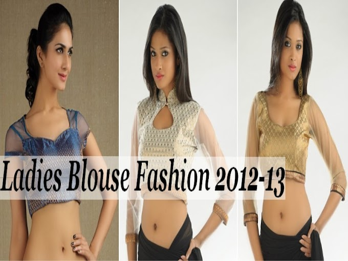 Ladies Blouse Fashion 2012-13 | Womens Blouses and Tops Style