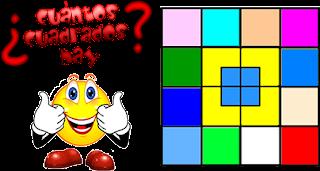 Cuadrados, Número de Cuadrados, Cuántos Cuadrados hay, Problemas matemáticos, Problemas para pensar, Desafíos matemáticos, Acertijos, Problemas de Observación