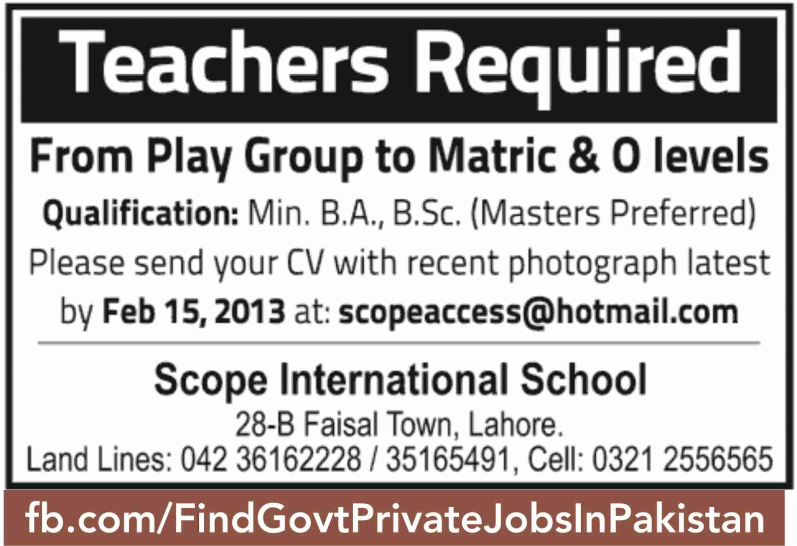 scahool staff jobs in sunda job ads