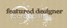 Featured Designer at Cardabilities