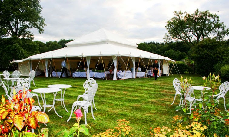 Planning the Perfect Vintage Garden Party & Vintage Marquees: Planning the Perfect Vintage Garden Party