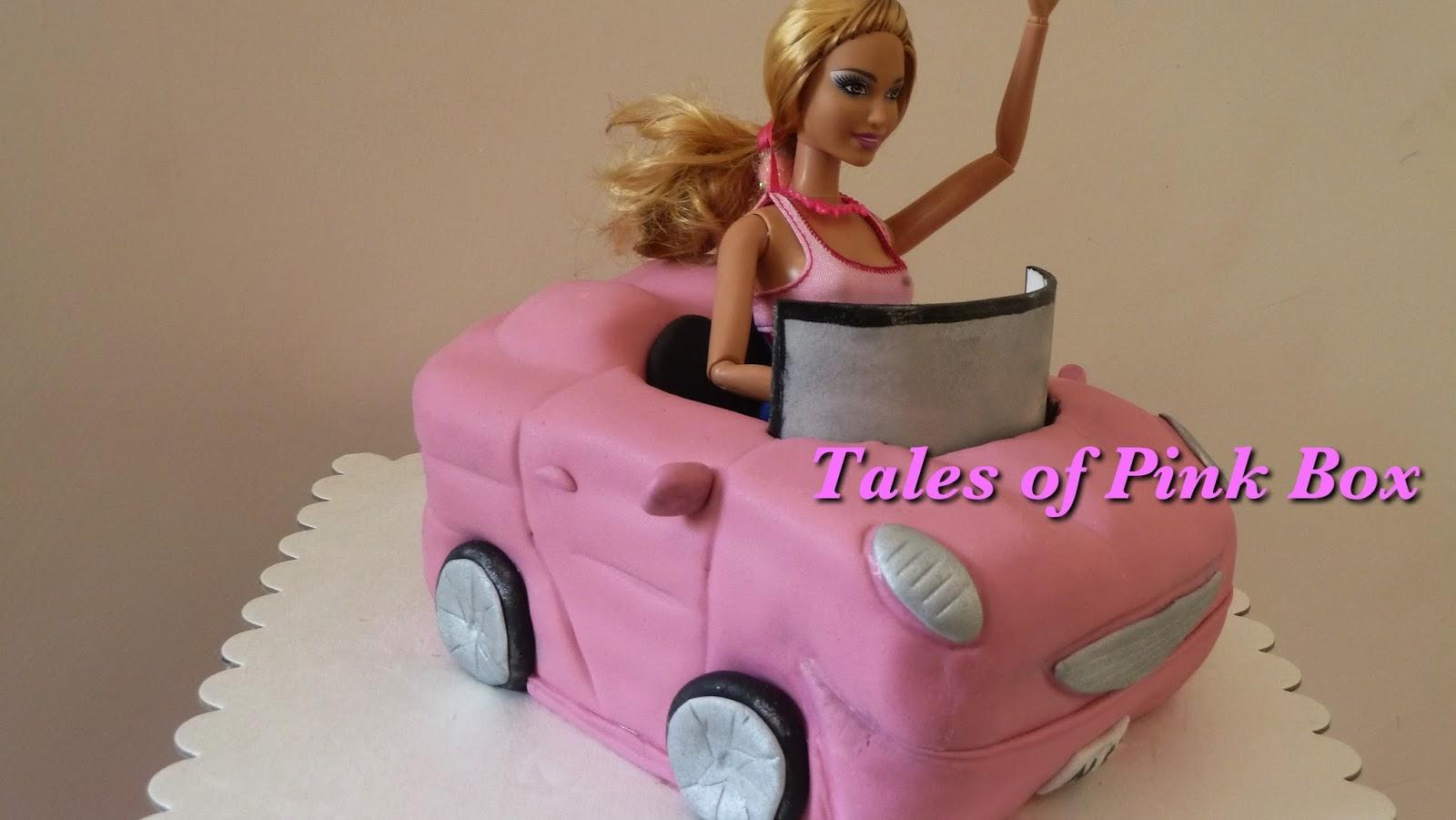 Make A Carved Car Cake