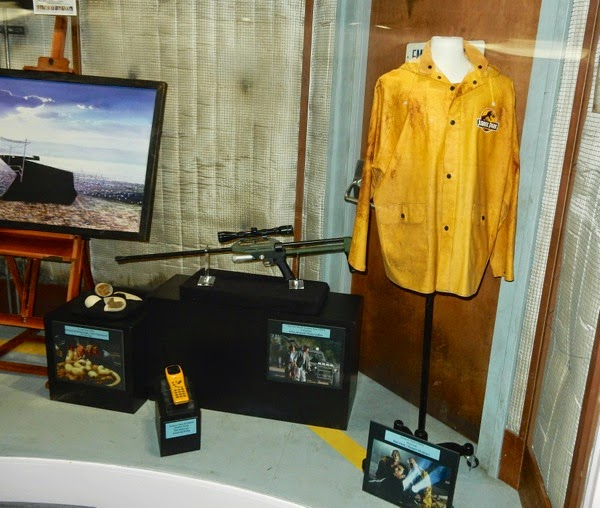 Jurassic Park movie costume prop exhibit