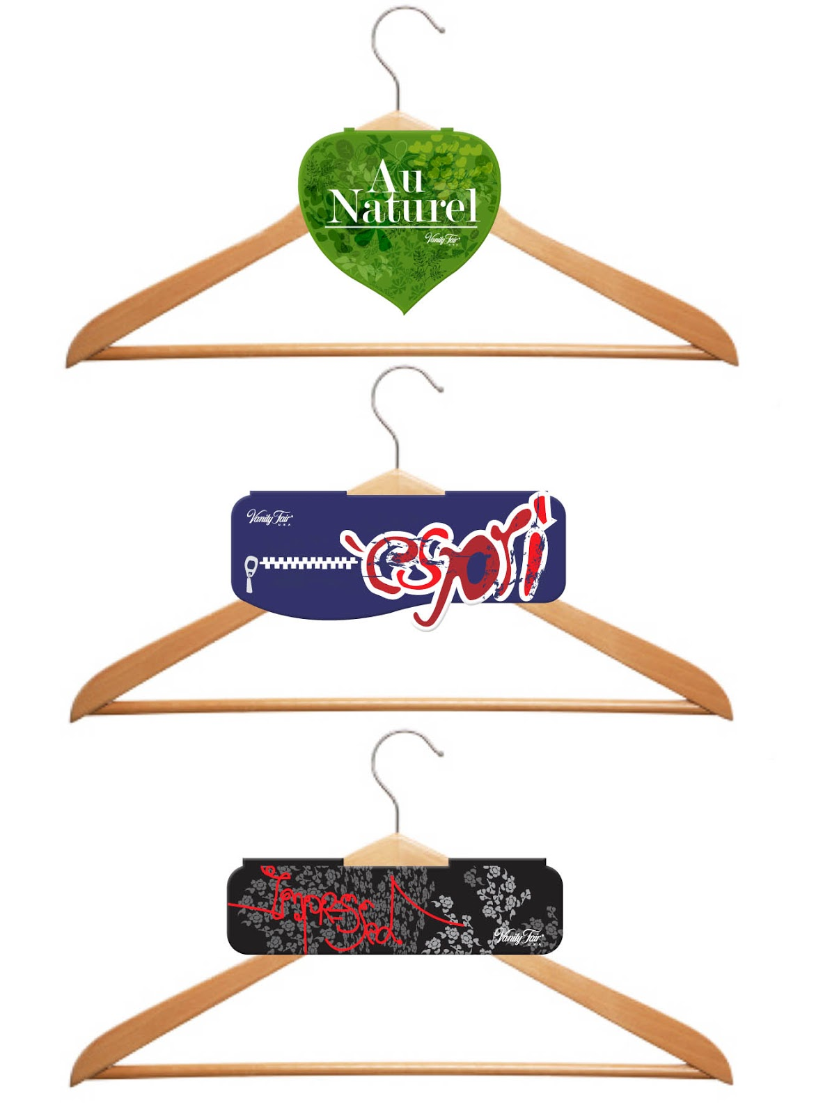 maylin graphic design: Lingerie Hanger tags designed