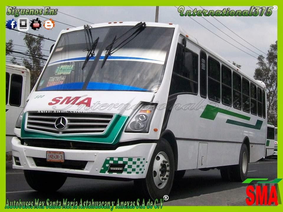 International-315: Autobuses Mex. Santa Maria Astahuacan y ...