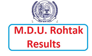 B.E/B.tech. 2012 Result Of MDU Rohtak