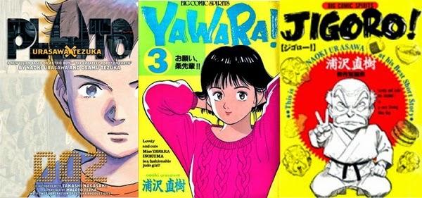 Pluto, Yawara!, e Jigoro!