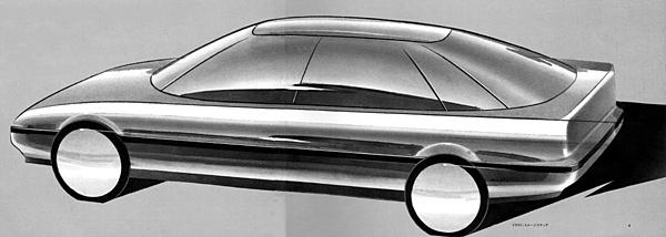Honda Concerto, koncept, prototyp, szkic, wizualizacja