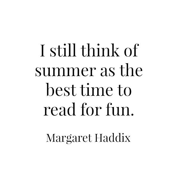 Margaret Haddix // Summer Reading