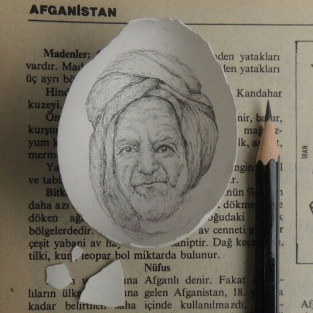 16-Afghan-Man-Sketch-Süreyya-Noyan-Architecture-Drawings-Art-Paintings-in-an-Egg-www-designstack-co