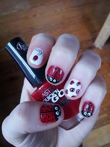 Ladybeetle Nails