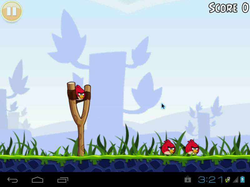 Android-x86 4.0.4 ICS RC2 - Angry Birds
