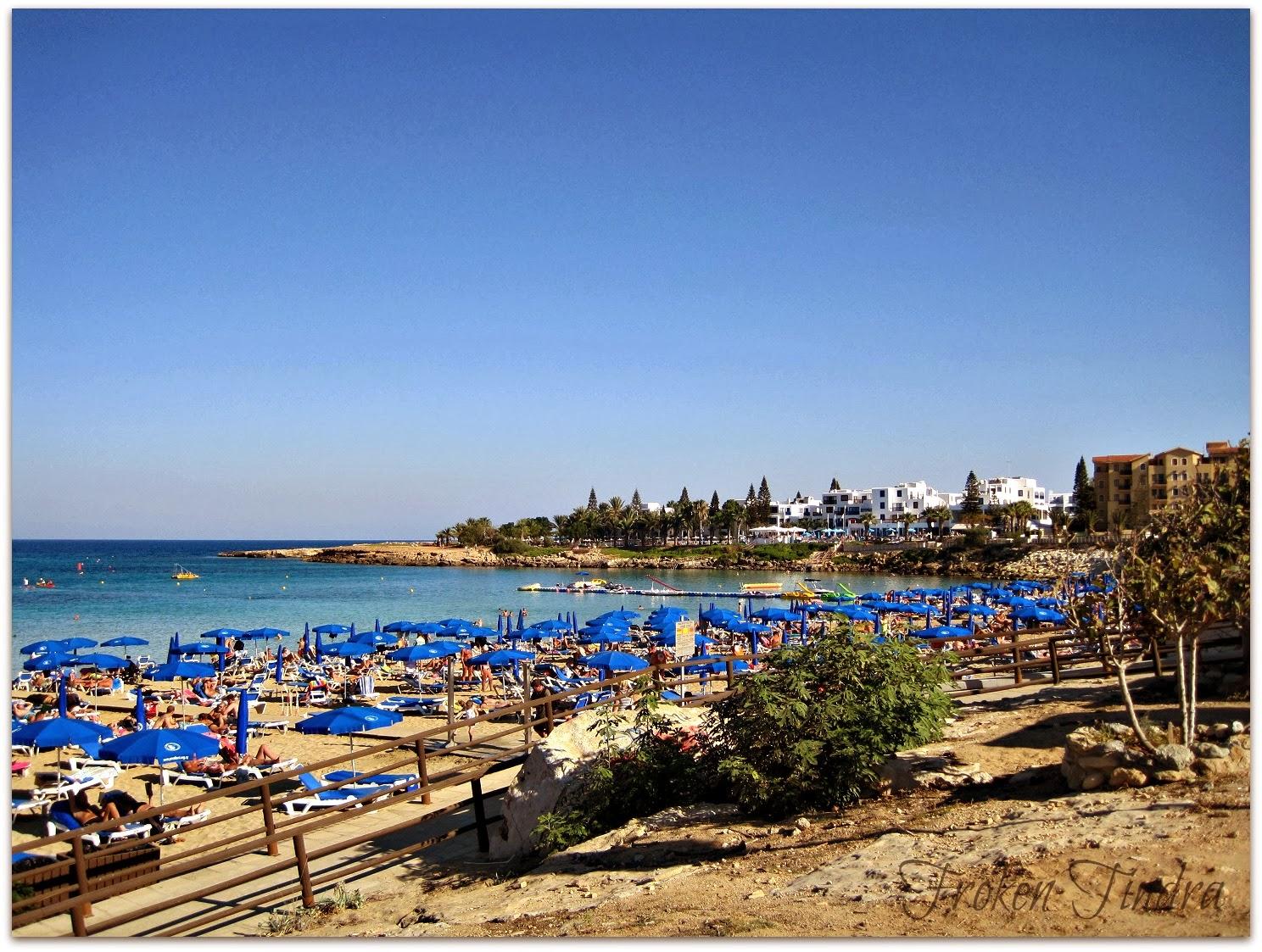Protaras, Cypern, Oktober -13
