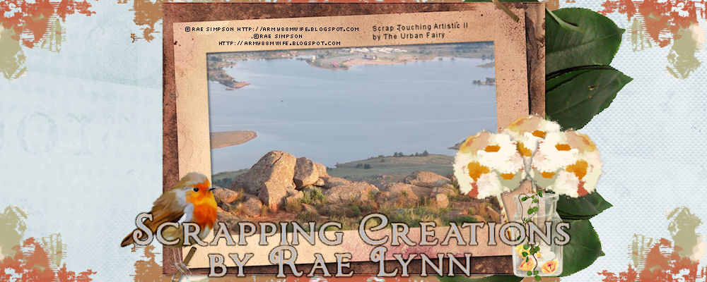 Scrapping  Creations    By   Rae Lynn