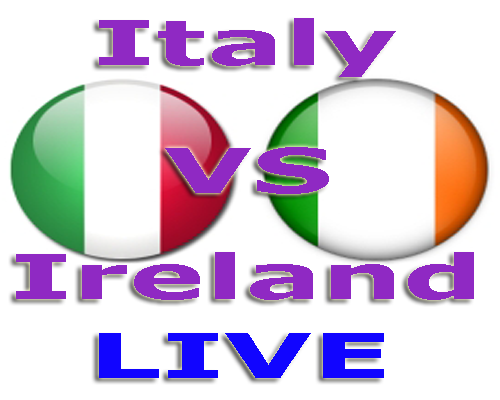 Watch Italy vs Ireland Live Stream