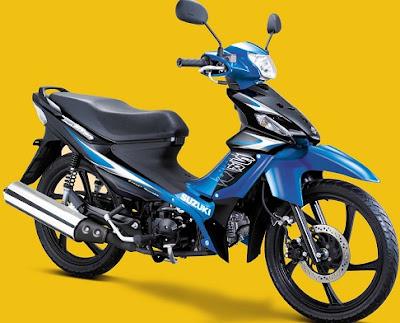 Daftar Harga Motor Suzuki Terbaru Tahun 2015 (part 2)