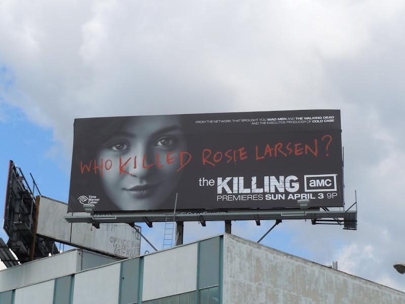 AMC The Killing TV billboard