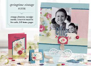 Stampin' Up! Springtime Vintage Suite