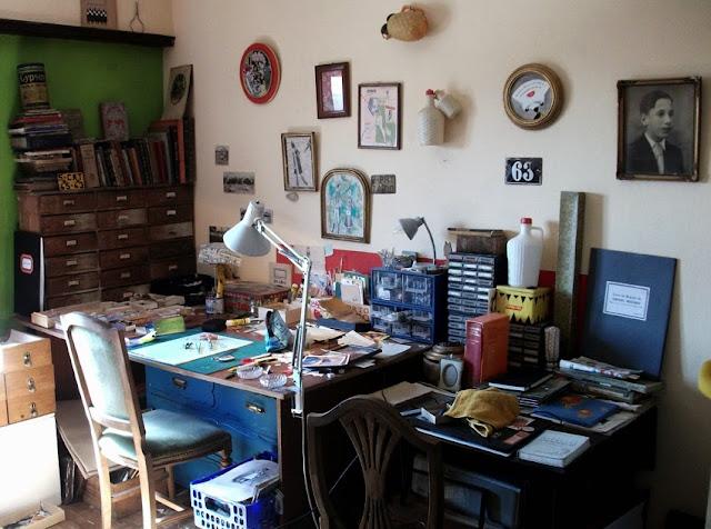 atelier of Helena Rocio Janeiro