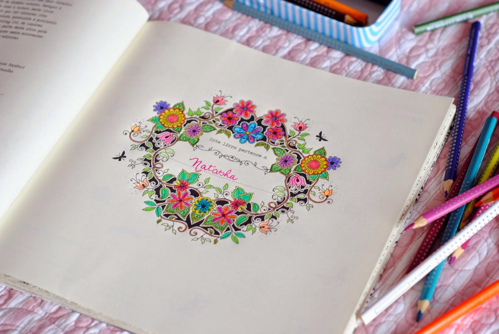fotos do livro jardim secreto : fotos do livro jardim secreto:Jardim Secreto Nosso Livro Antiestresse