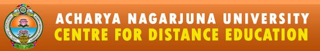 ANU CDE UG / PG Admission Notification 2015