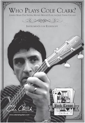 Johnny Marr ukulele