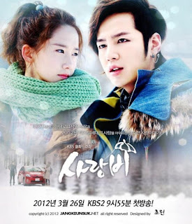 Love Rain Korean Romance TV Drama Series Korean Broadcasting System(KBS)