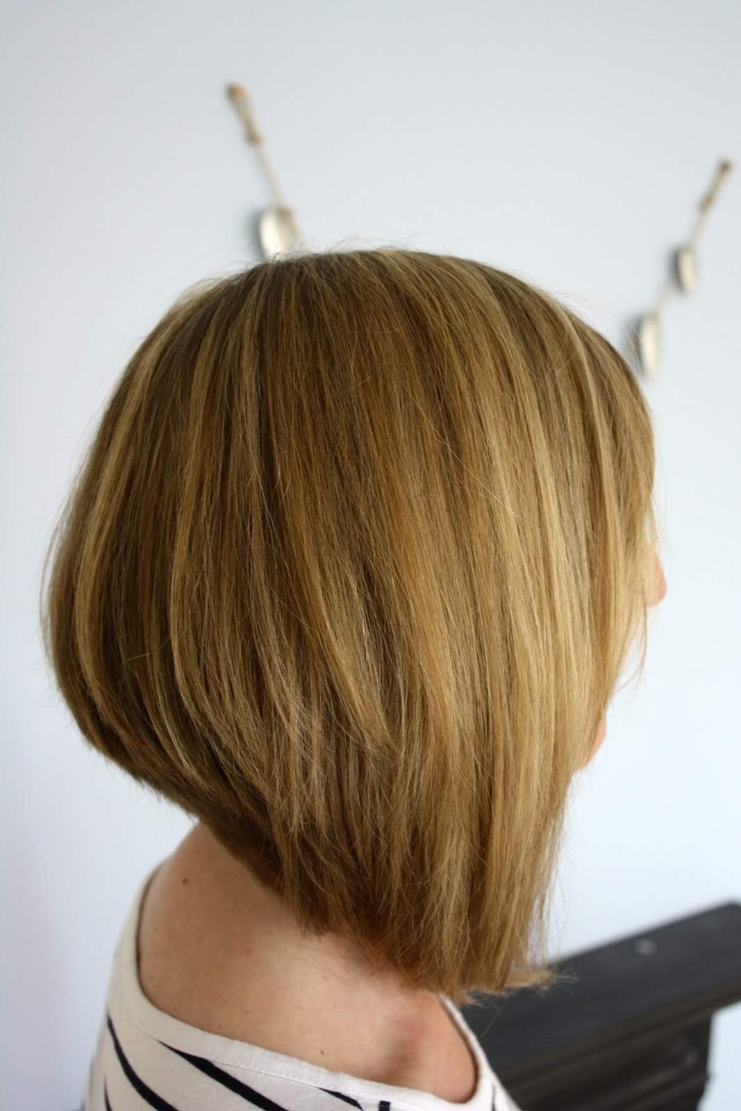 Swing Bob Haircut Back View