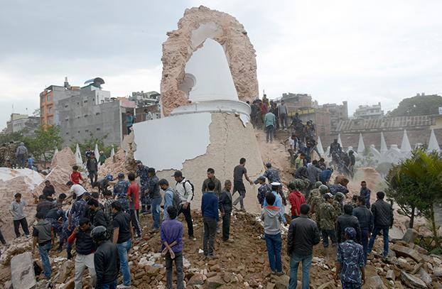 gempa bumi nepal 2015