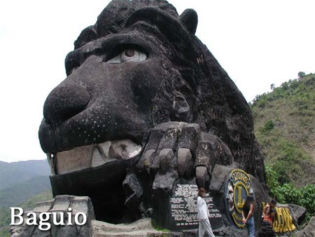 Baguio City Lion Head