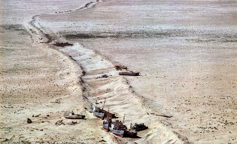 Laut Aral yang Mengering