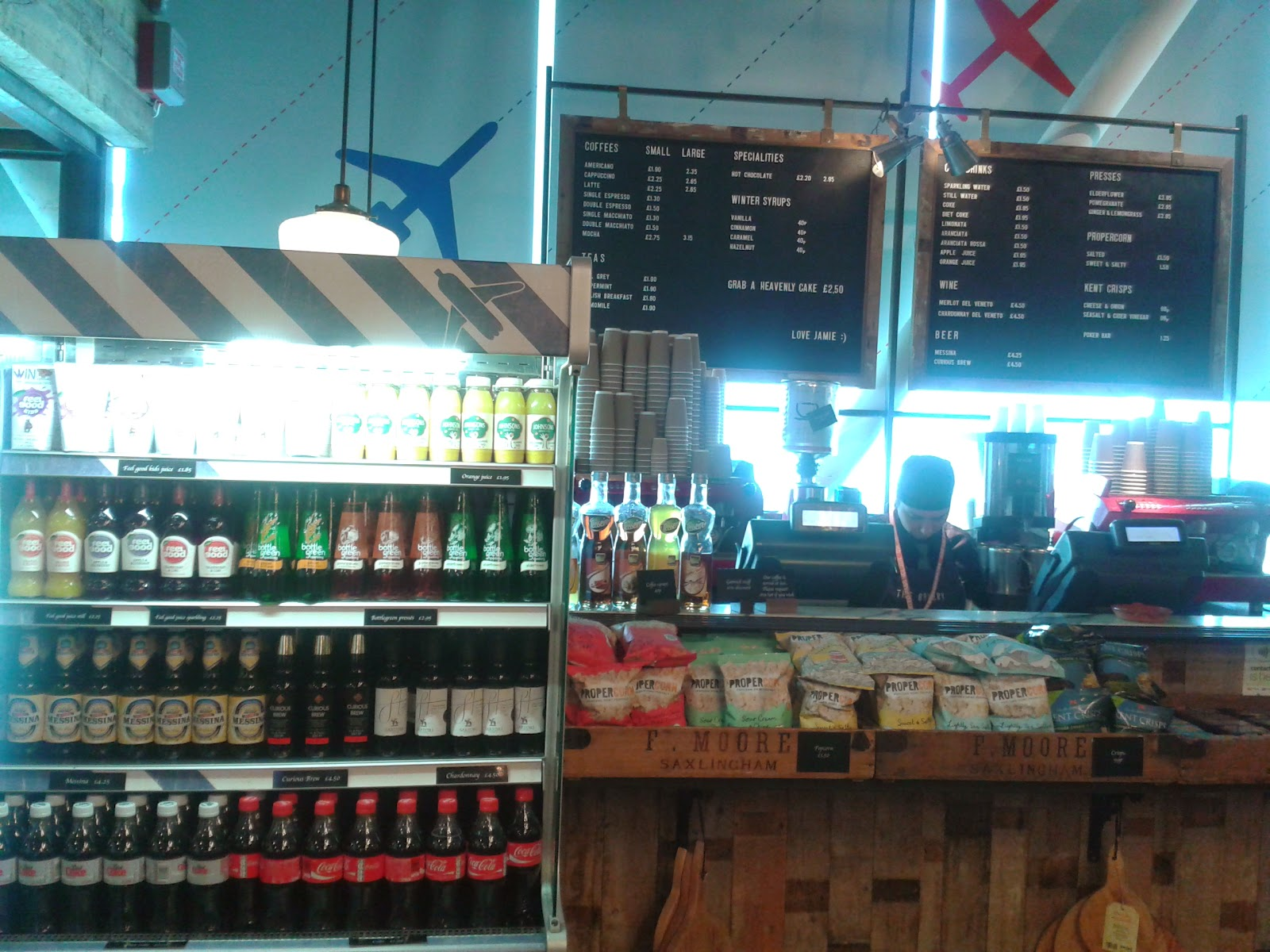 My Food Place Of The Week Jamies Italian Restaurant Bar Bakery