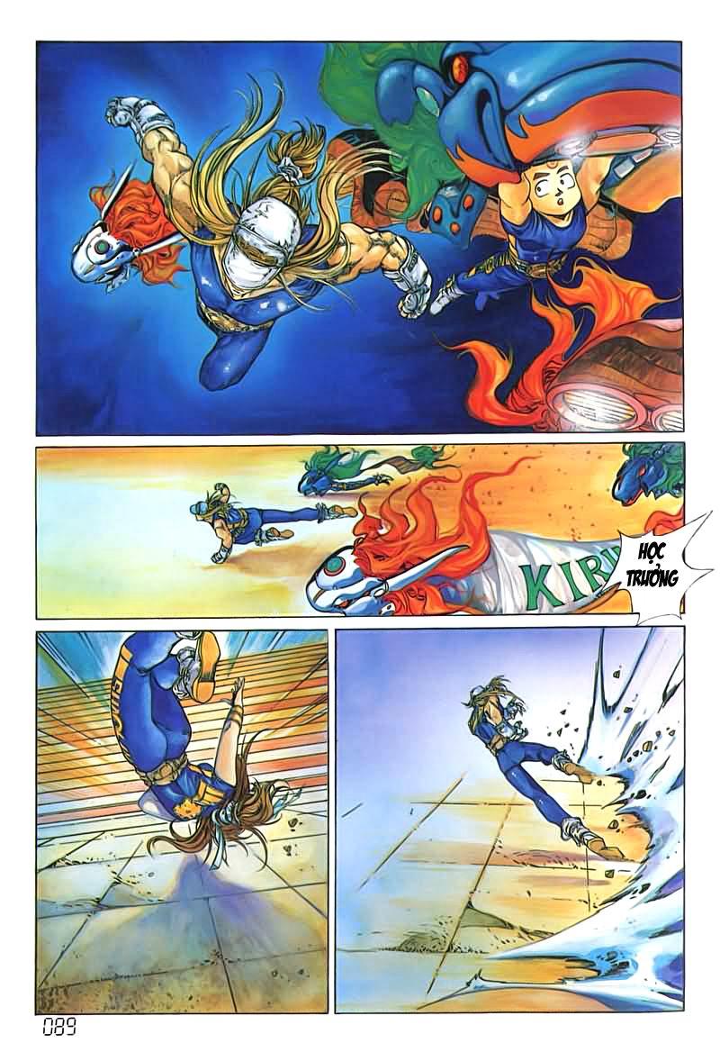 Cyber Weapon Z - Siêu Thần Z chap 4 - Trang 47