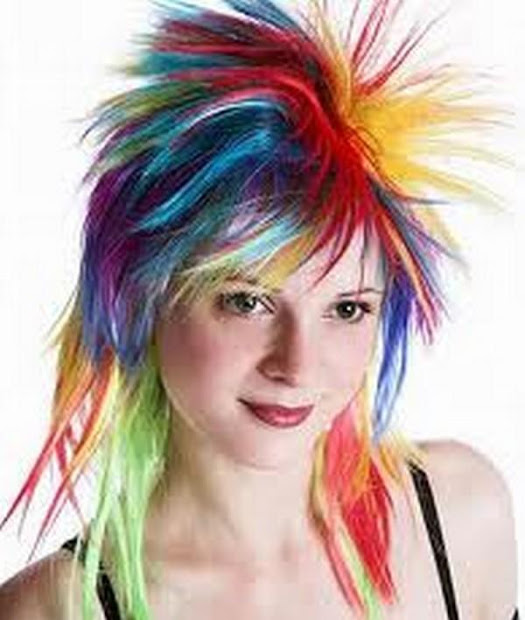 hairstyles girls hair color
