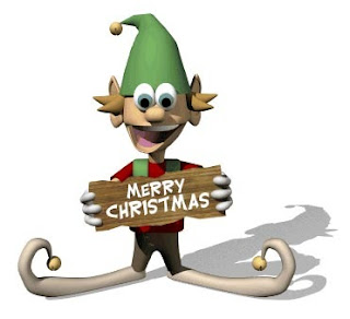 X'Mas Greetings Cards 2012 Photo of Merry Christmas Wishing Clown