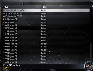 NBA 2K12 Ultimate Base Roster V33