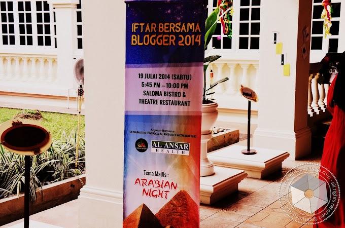 Sekitar Majlis Iftar Bersama Blogger 2014