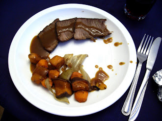 Triumphant Wednesday Roasted Beef & Veg