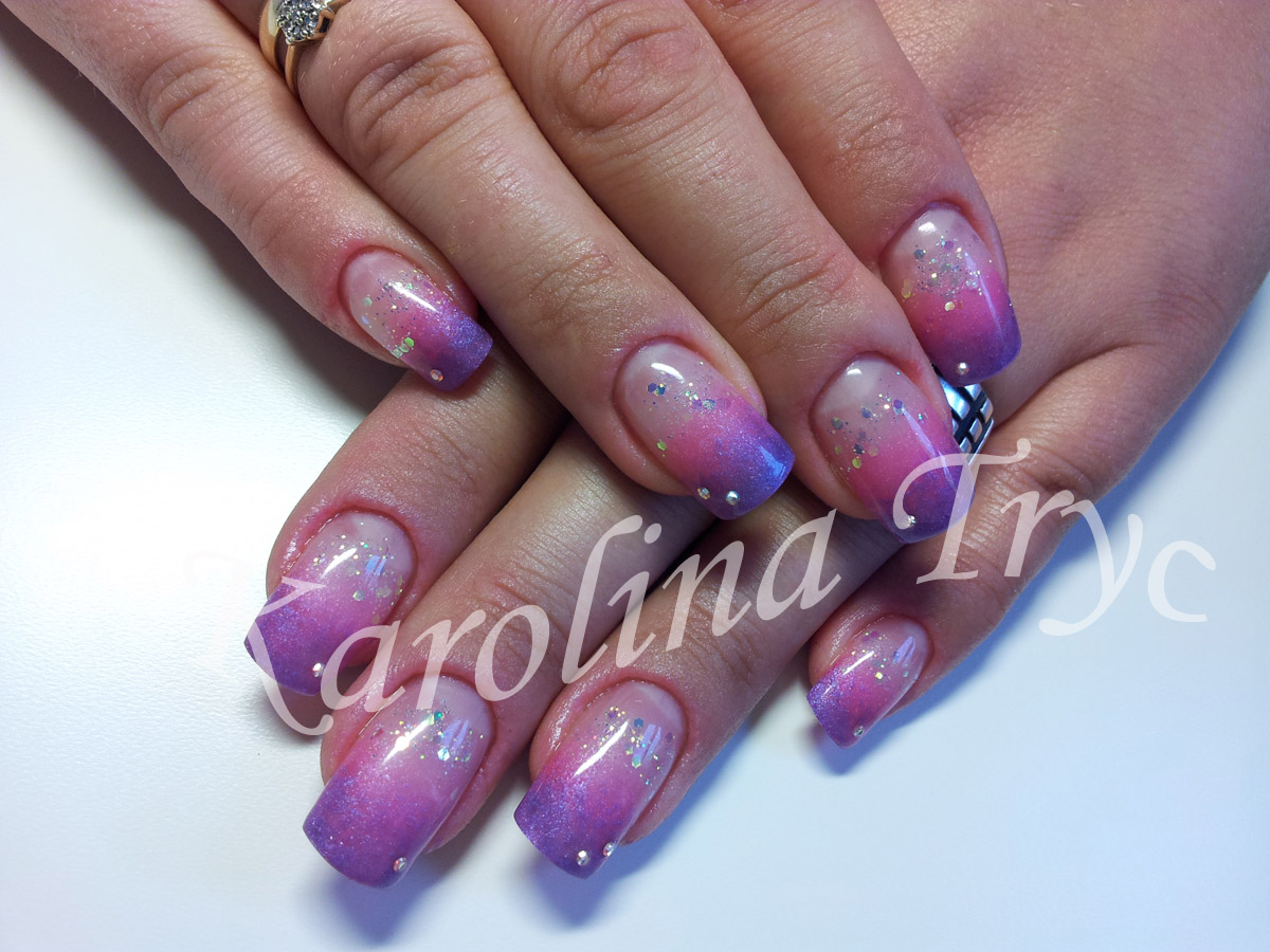 ... &OVERLAYS***CRYSTAL NAILS: Natural Nail UV Gel Overlay + nail art