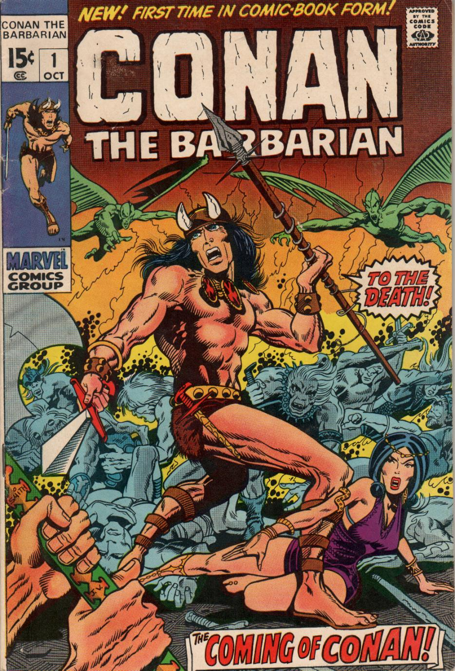 Conan the Barbarian (1970) Issue #1 #13 - English 1