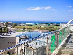 Ático con terraza al final de Orillamar, vistas al mar, dos dormitorios, garaje. 700€