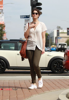 Gemma Arterton Pictures in Skinny Jeans out in Hollywood  0005