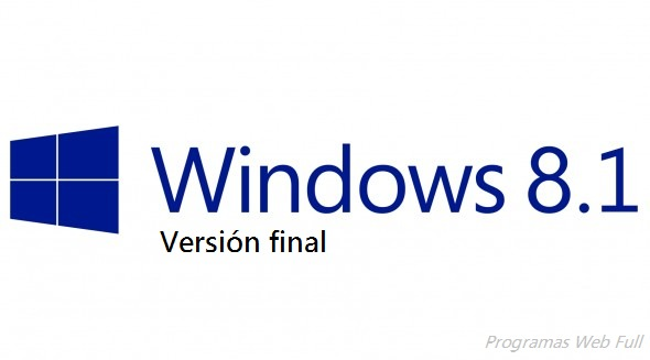Windows 8.1 Versión Final