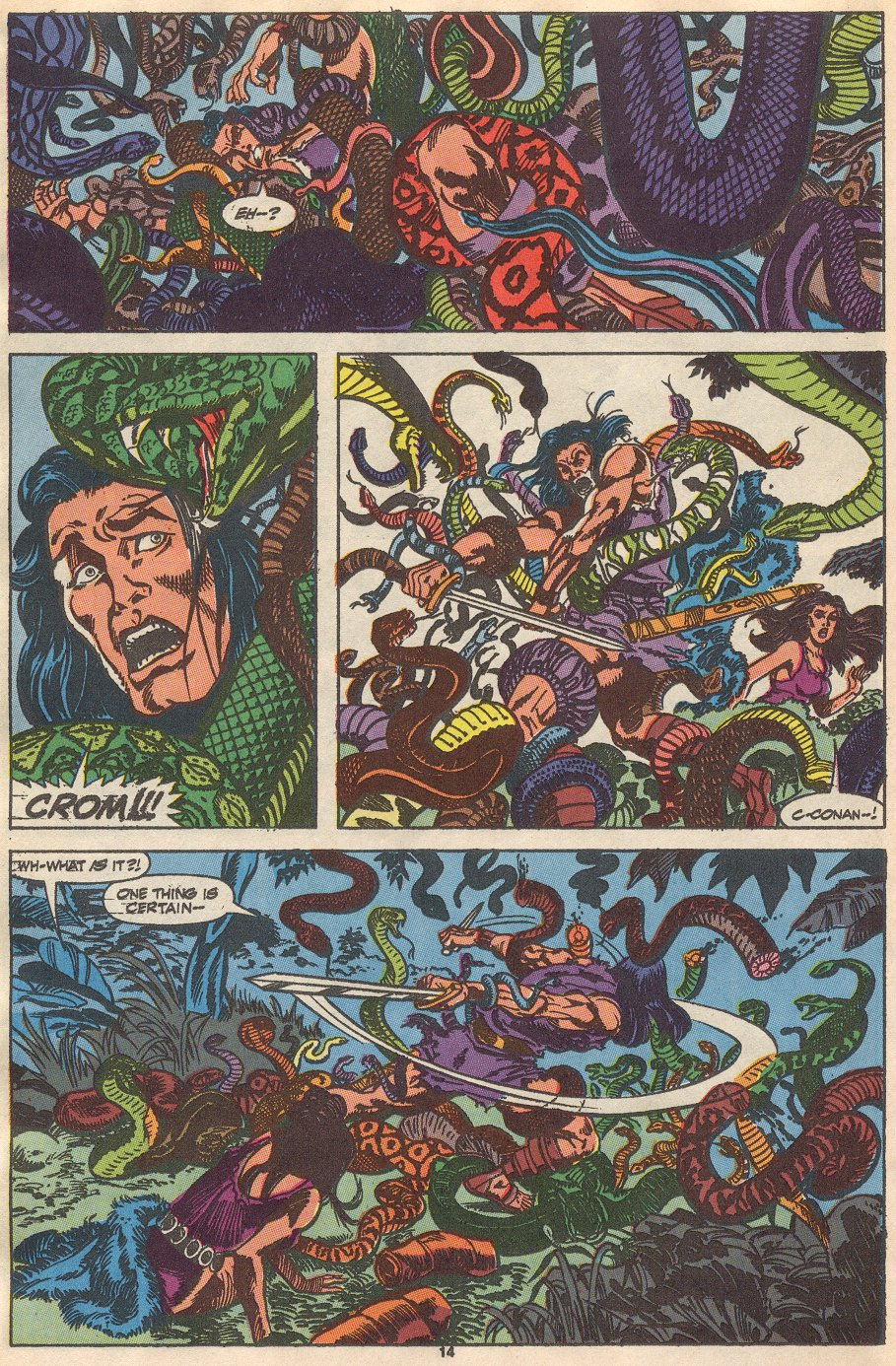 Conan the Barbarian (1970) Issue #237 #249 - English 12