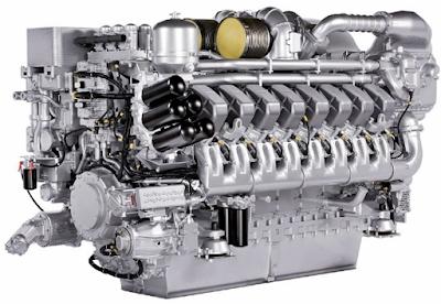 Bagian-Bagian Utama Mesin Diesel Dan Penjelasannya