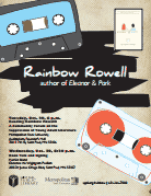Rainbow Rowell (with SPPL and MSU) 10/29/13 & 10/30/13