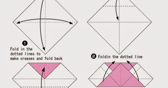 Printable Instructions For Origami Heart Moving Origami