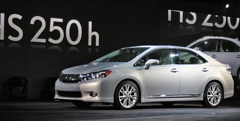New Lexus HS Hybrid Awesome view