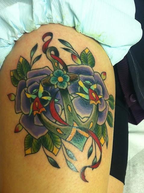 significado tatuaje ancla, Taylor Hudson, http://distopiamod.blogspot.com.es